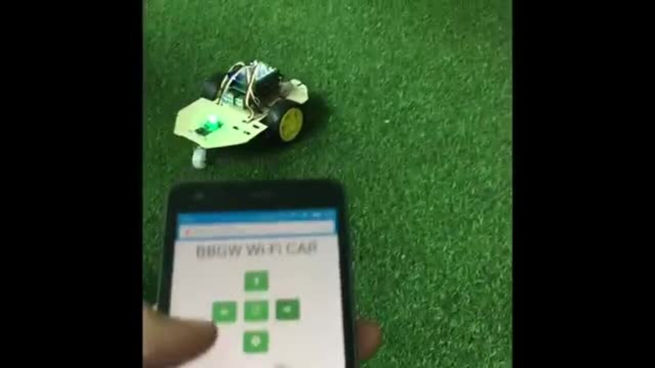 BeagleBone Web RC Car--wifi controled--Seeed Studio