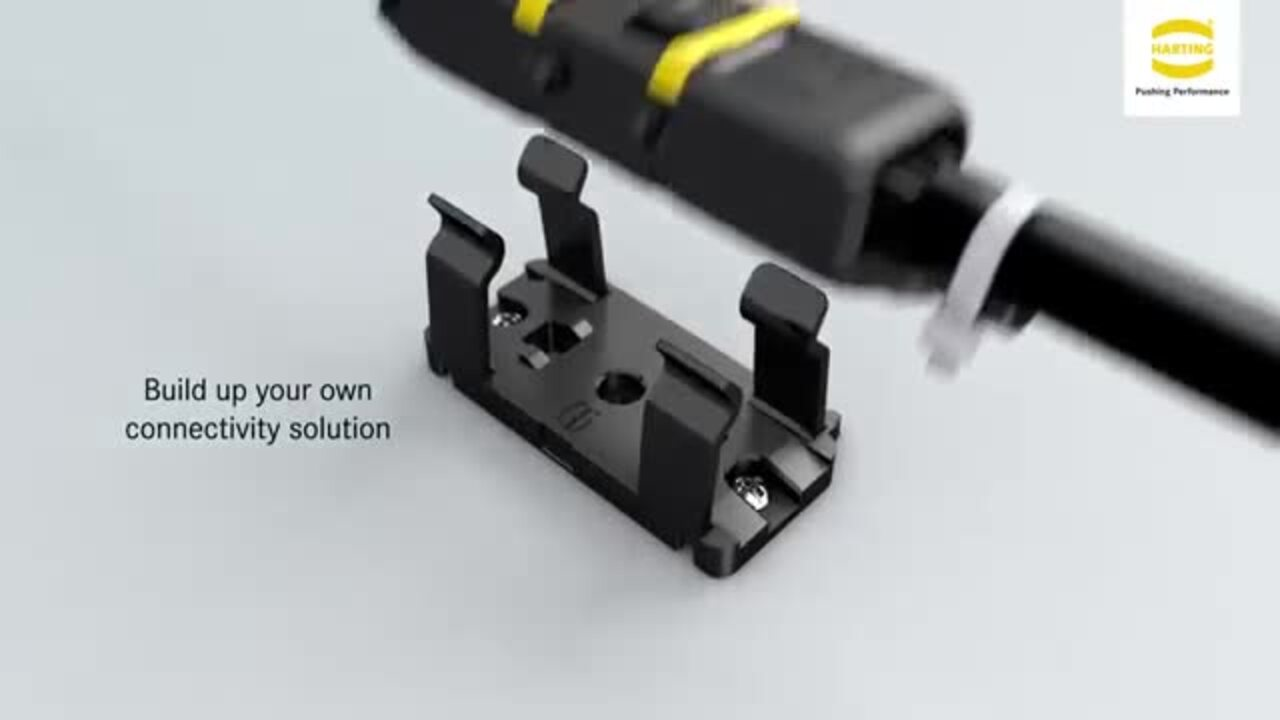HARTING Han® 1A - Compact, robust and versatile