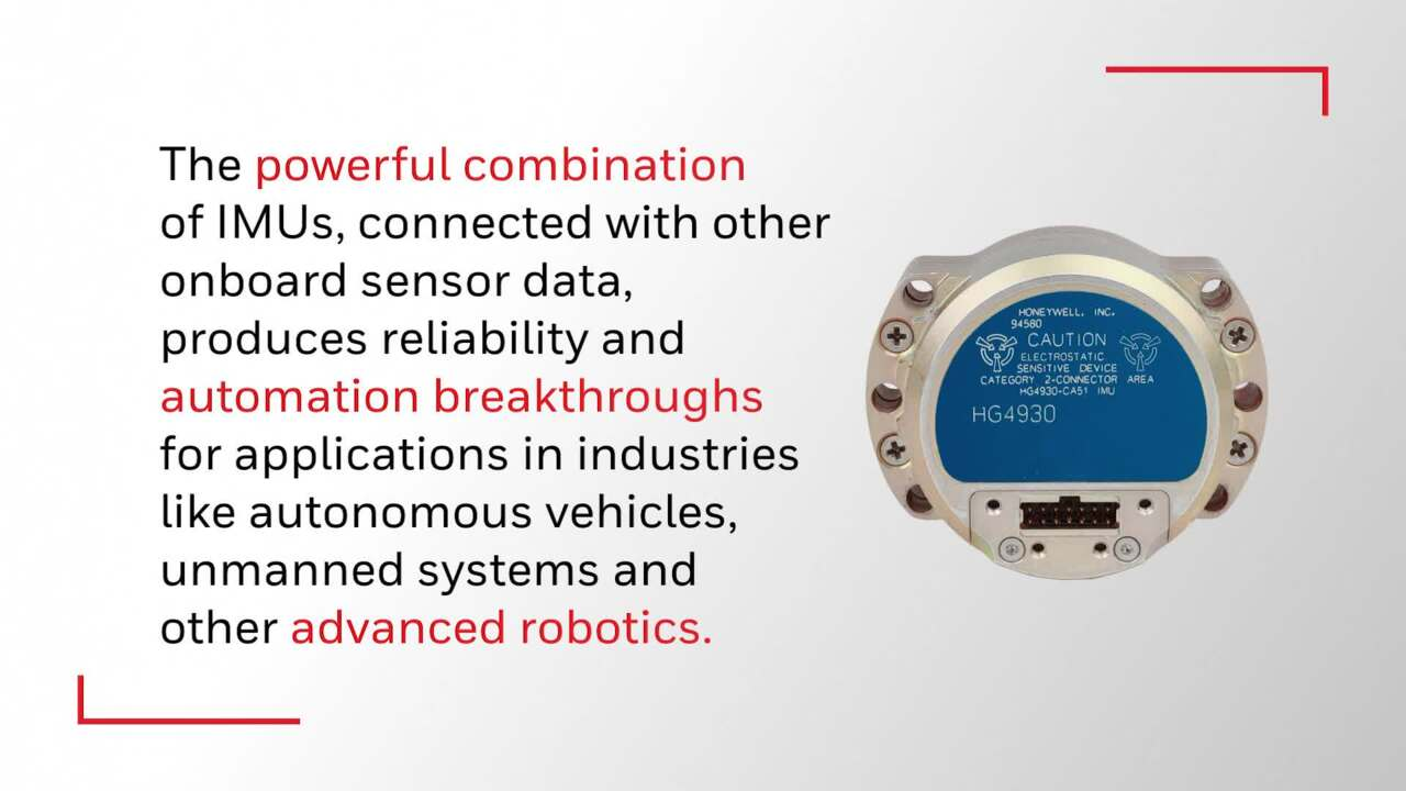 Honeywell's HG4930 Inertial Measurement Unit