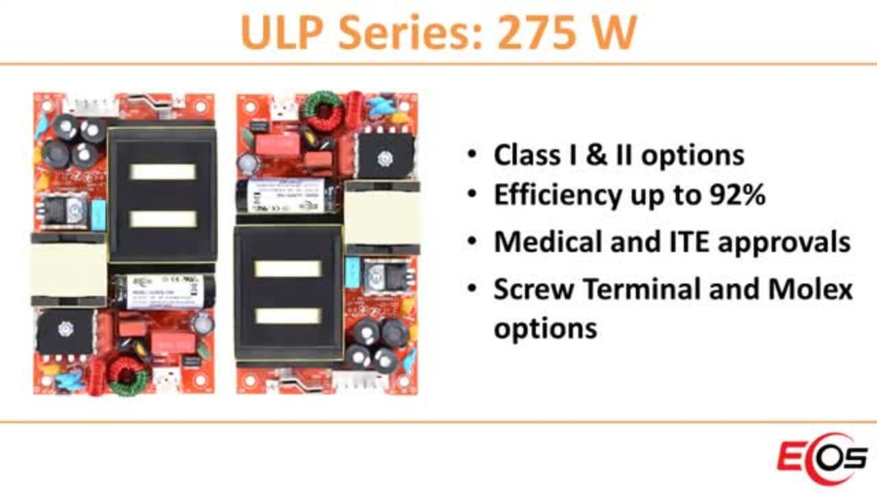 EOS Power (M)ULP275 Ultra Low-Profile Orange Power Supplies