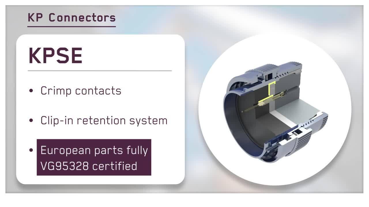 ITT Cannon KP Connectors