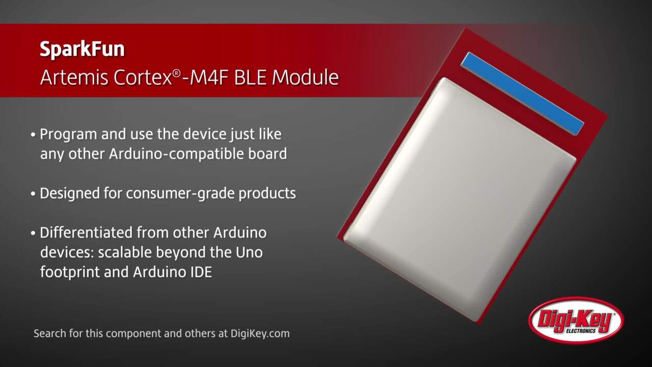 Sparkfun Artemis Cortex®-M4F Based BLE Module | Digi-Key Daily