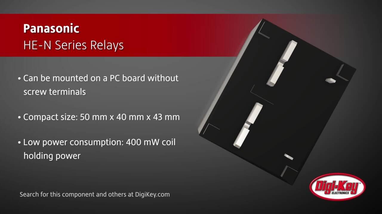 Panasonic HE-N Series Relays | Digi-Key Daily