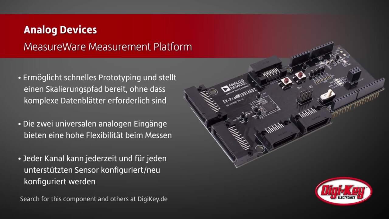 Analog Devices MeasureWare Pro Development Kit   Digi-Key Daily