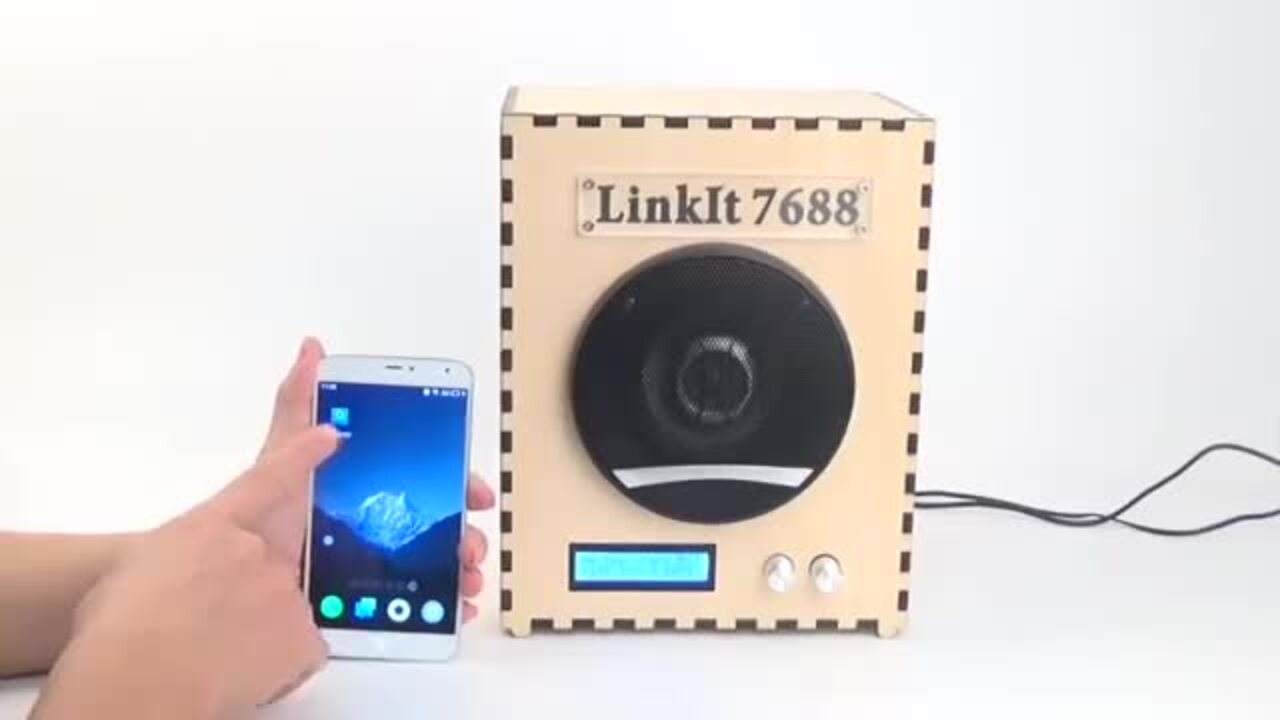 Linklt Smart 7688--Smart Wifi Audio Demo