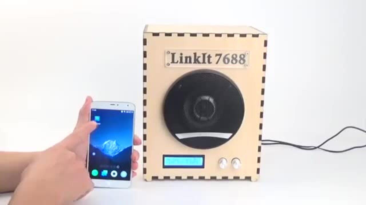 Linklt Smart 7688--Smart Wifi Audio Demo