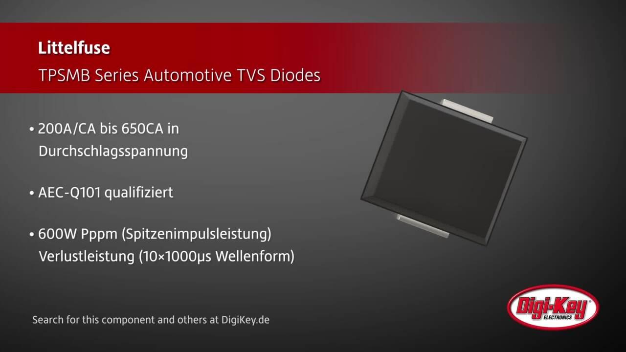 Littelfuse TPSMB Series TVS Diodes | Digi-Key Daily