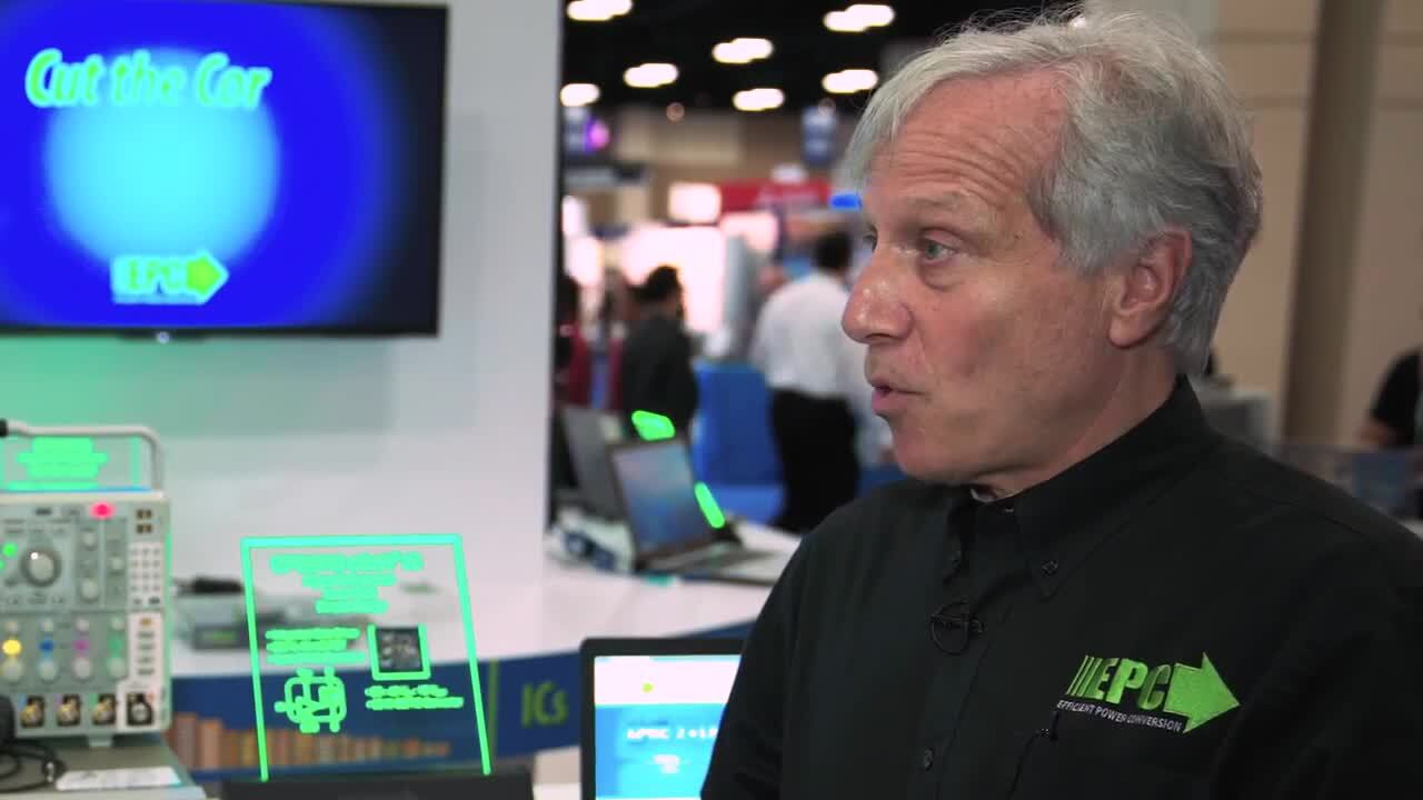 Why gate drivers are joining eGaN transistors on the same chip