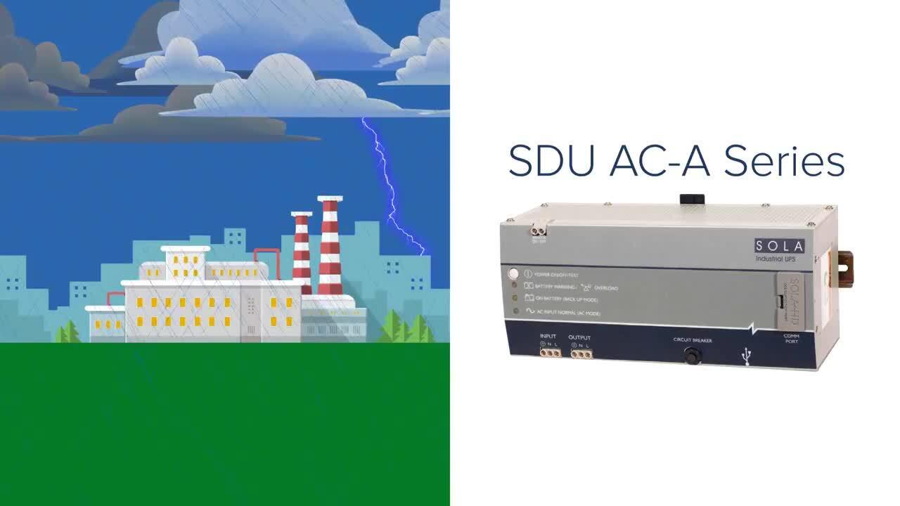 SolaHD SDU AC - A Series Uninterruptible Power Supply