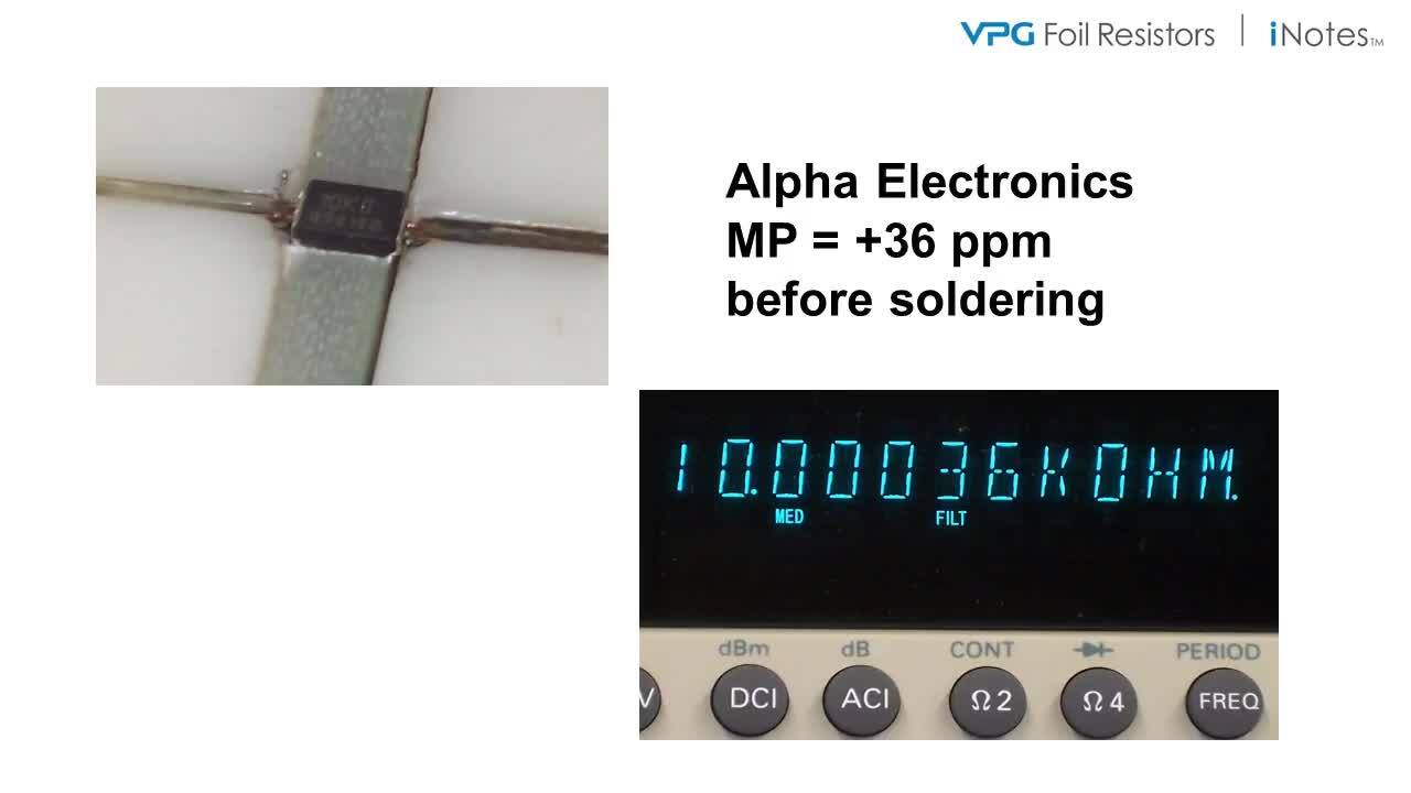 A Tale of Two Resistor Technologies Pre- and Post-Soldering