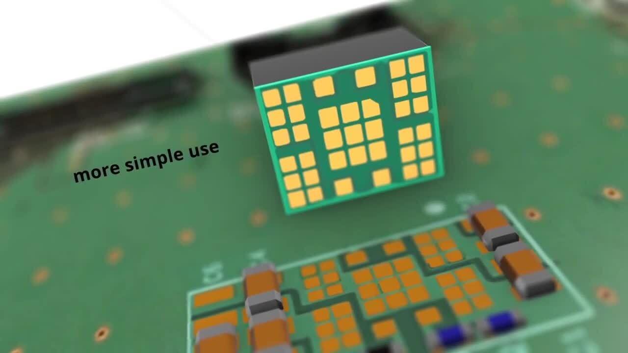 High Level Power Density And Small DC-DC Converter (POL) for FPGA