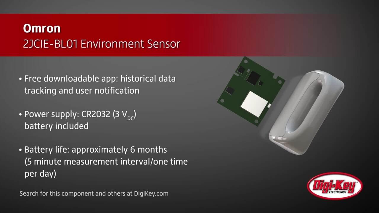 Omron 2JCIE-BL01 Environment Sensor | Digi-Key Daily