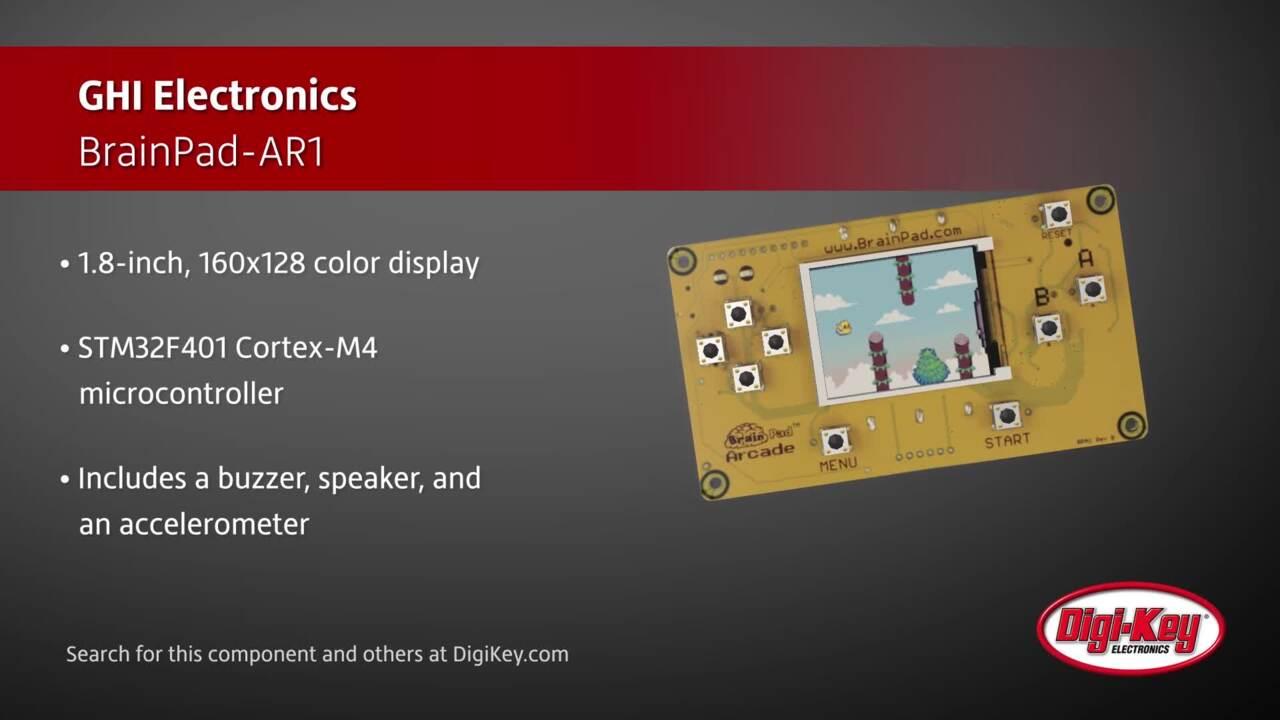 GHI Electronics BrainPad-AR1   Digi-Key Daily