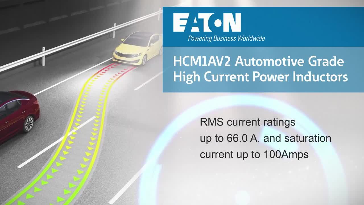 Automotive Grade High Current Inductors – HCM1AV2 Series