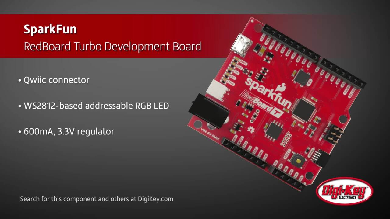 SparkFun RedBoard Turbo Development Board | Digi-Key Daily