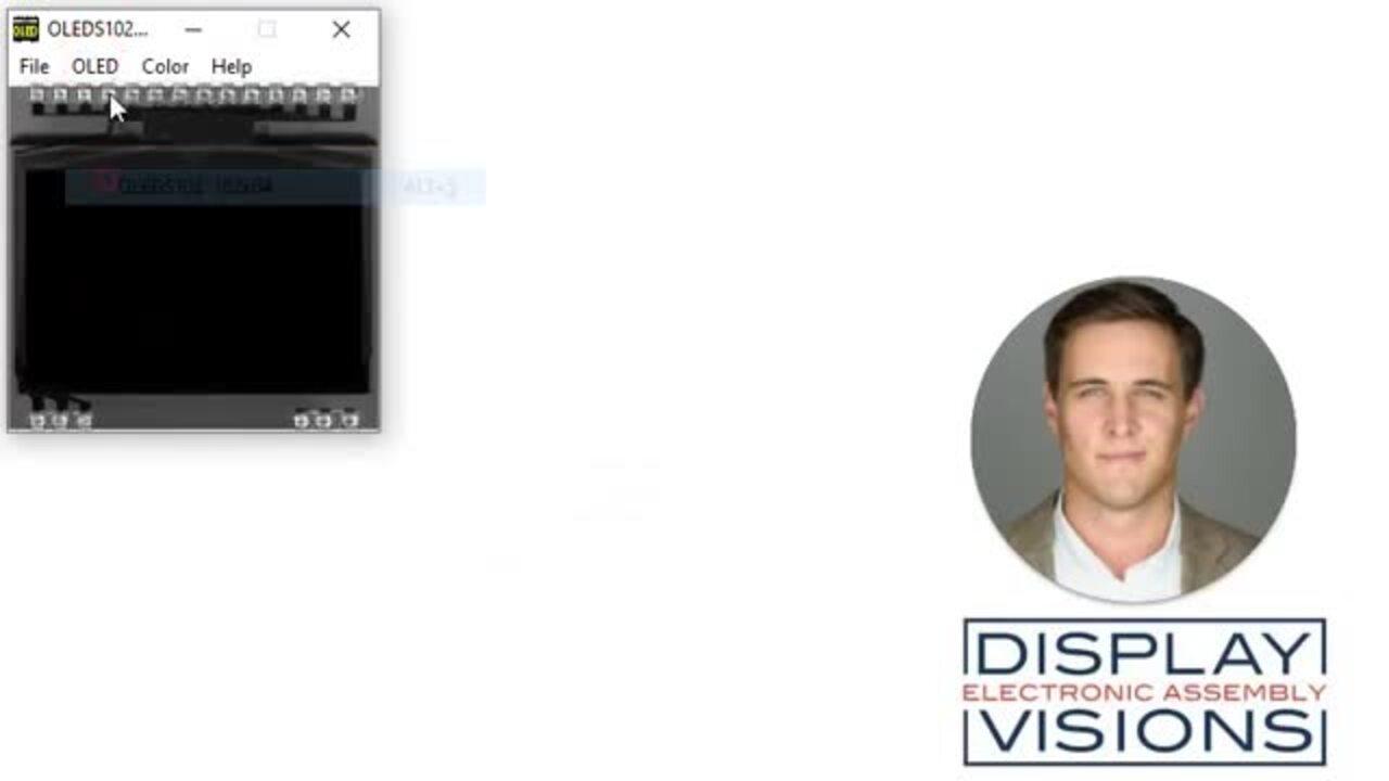 Industrial OLED Display Simulator