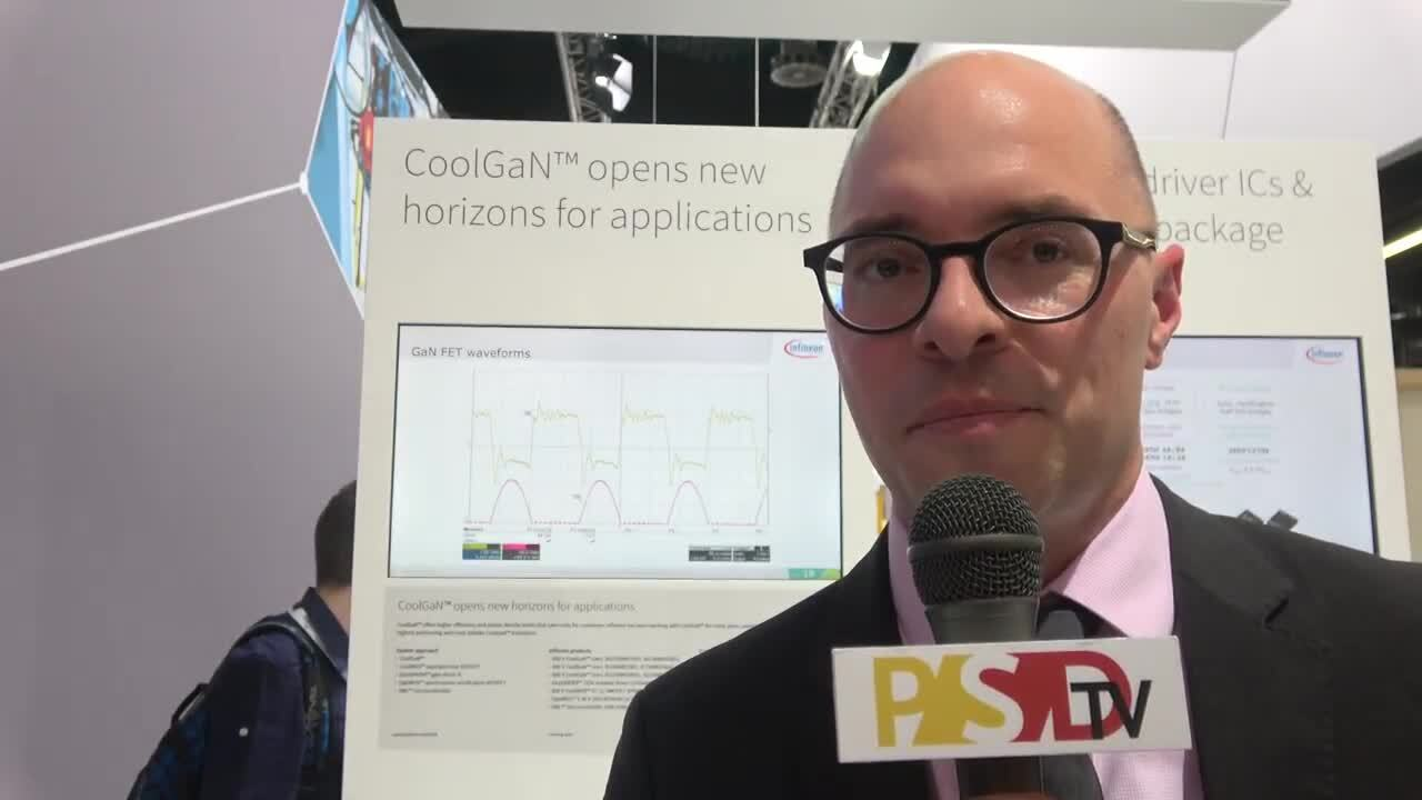 PSDtv - Infineon discusses their expanding portfolio of CoolGaN offerings at PCIM Europe 2018