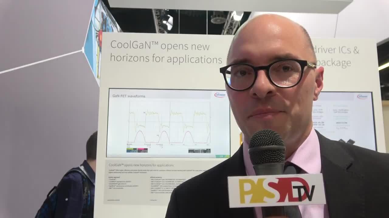 PSDtv - Infineon discusses their expanding portfolio of CoolGaN offerings at PCIM Europe 2018