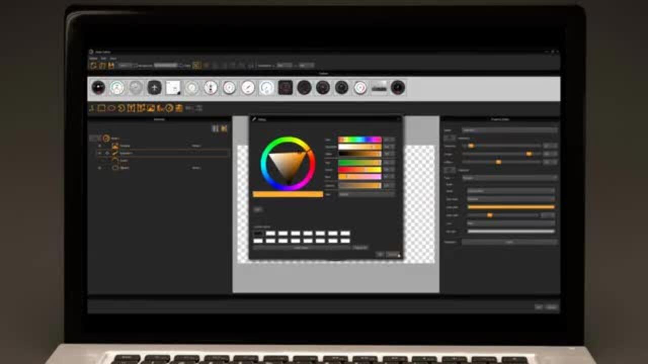 uniTFTDesigner Meter Editor – Overview