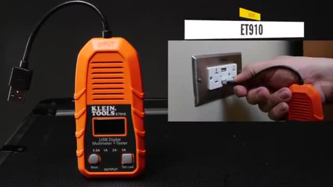 Klein Tools' USB Digital Meters