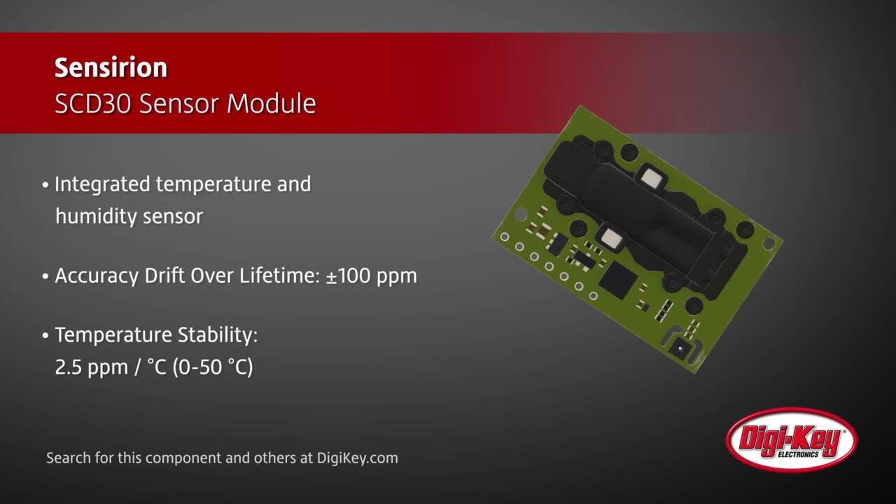Sensirion SCD30 Sensor Module | Digi-Key Daily