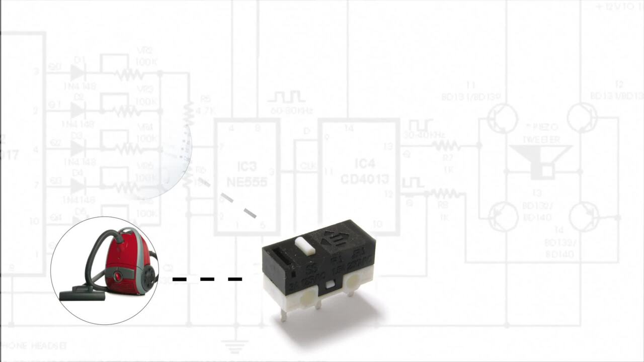 E-Bits – SS Series Sub Miniature Snap Action Switches