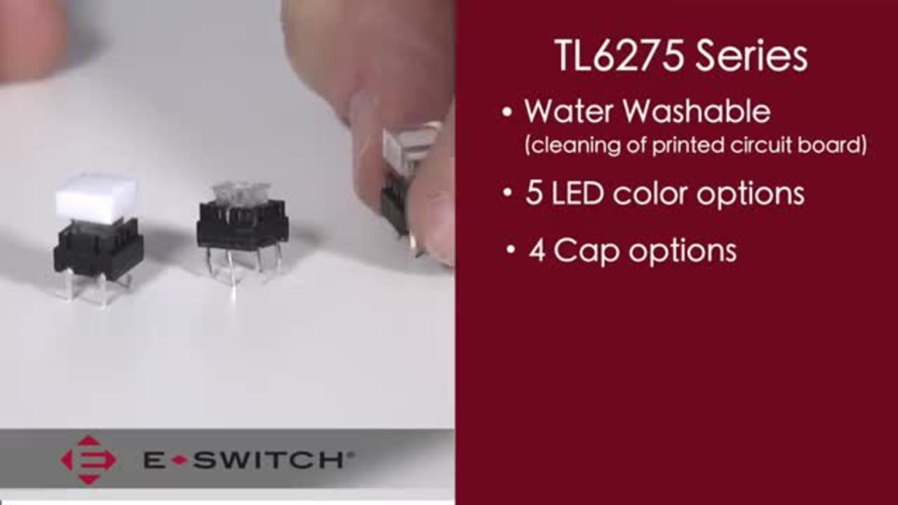 Tact Switches: E-Switch - TL6275