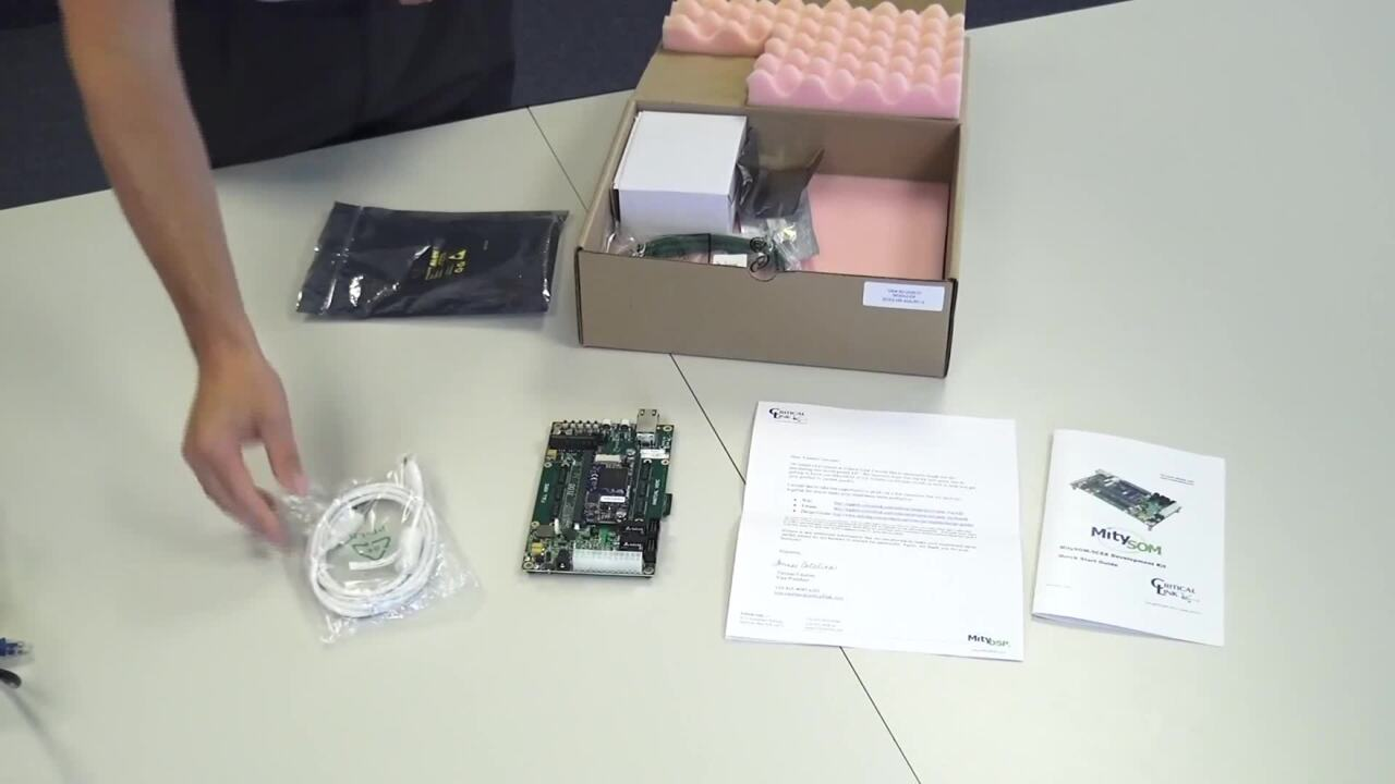MitySOM-5CSX Development Kit: Unboxing