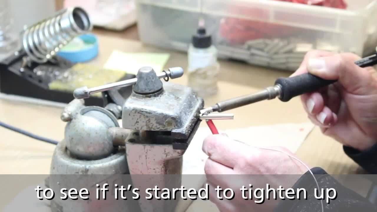 How to Solder a Wire onto a Banana Plug