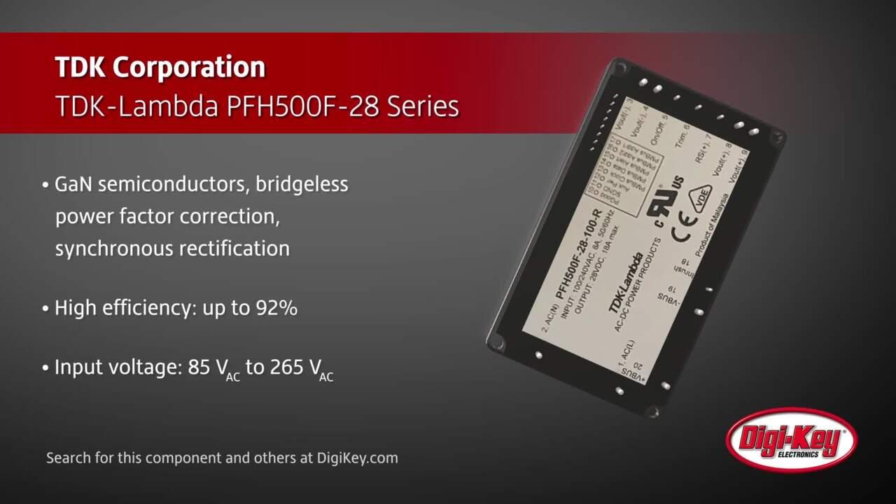 TDK-Lambda PFH500F-28 Series | Digi-Key Daily