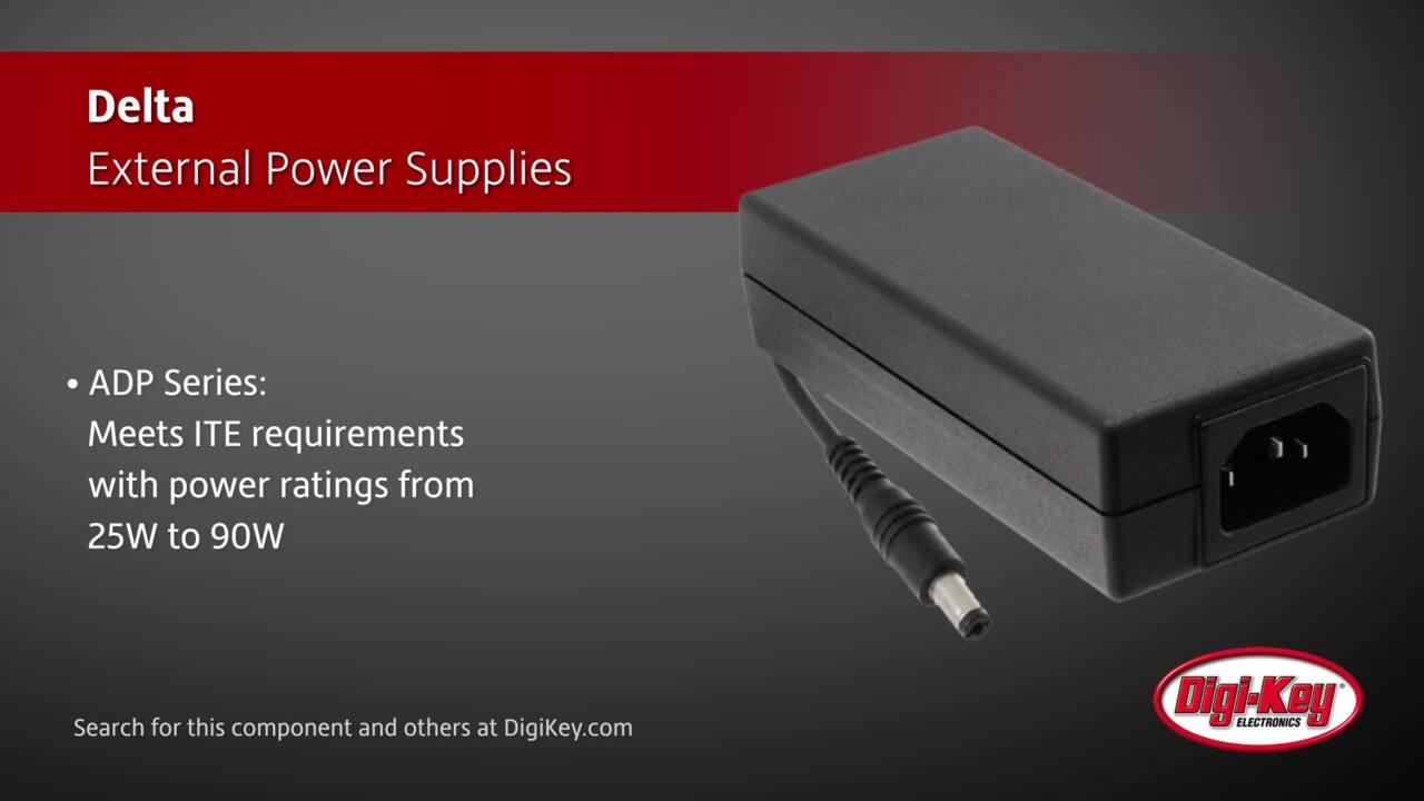 Delta External Power Supplies | Digi-Key Daily