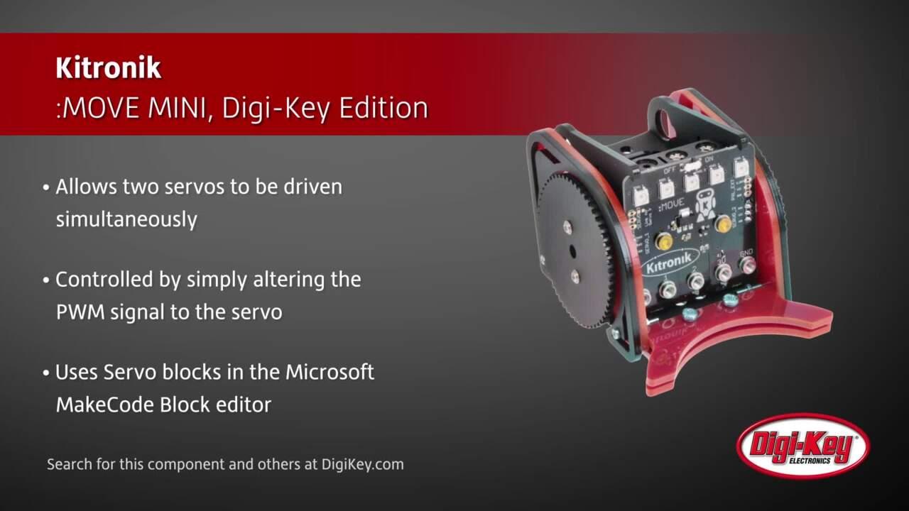 Kitronik MOVE MINI with bumper Digi-Key Edition | Digi-Key Daily