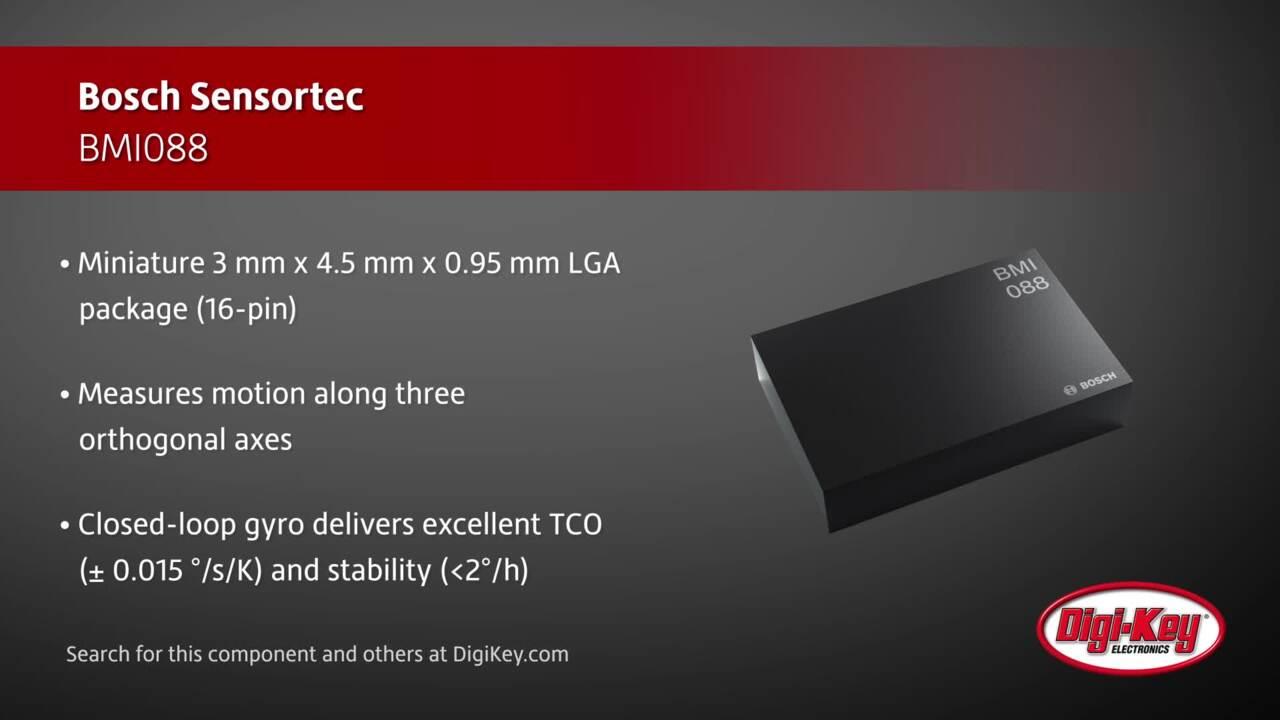 Bosch Sensortec BMI088 | Digi-Key Daily