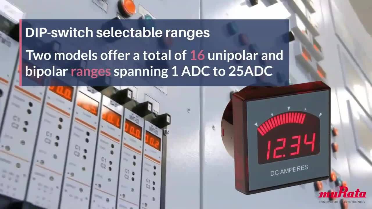 DMR35 Series Bargraph Digital DC Ammeters