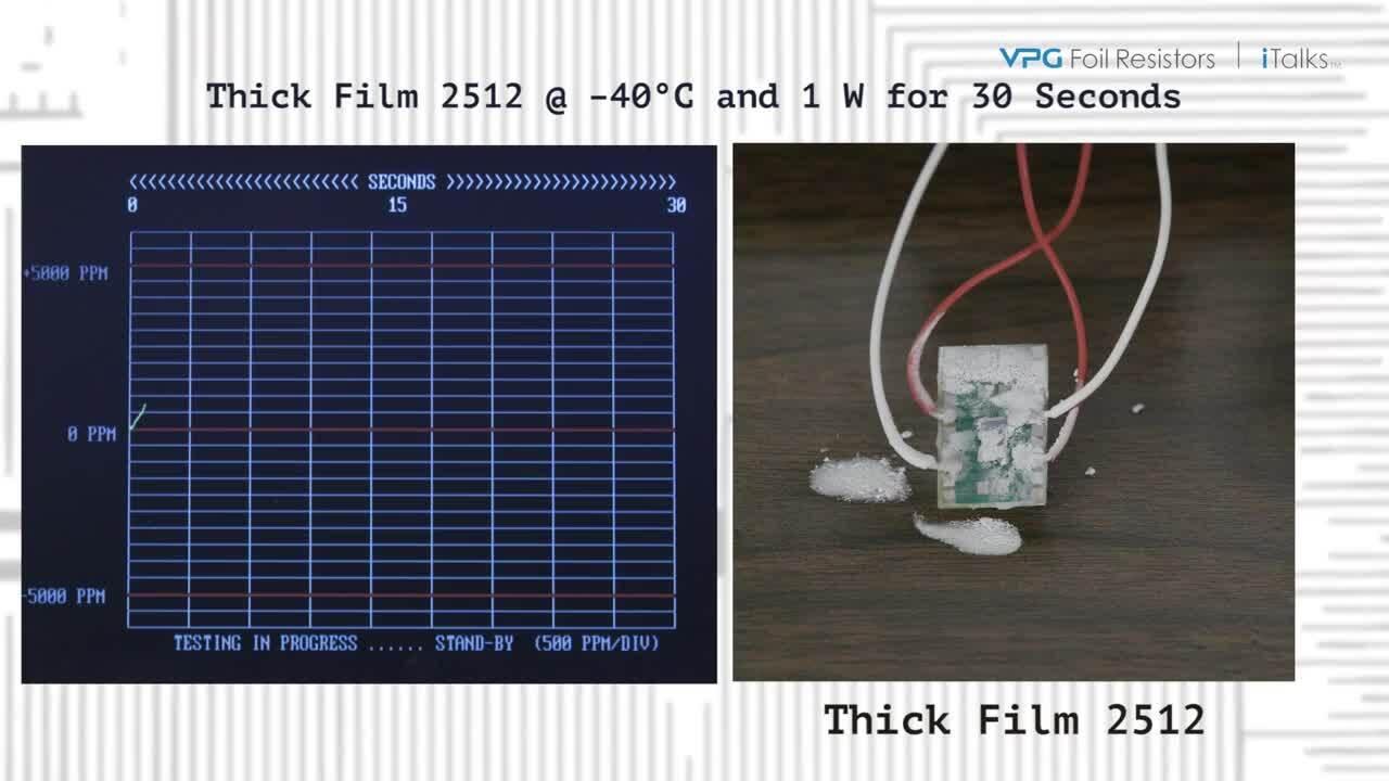 Bulk Metal Foil Current Sense Resistors – PCR and TCR Stability Demonstration