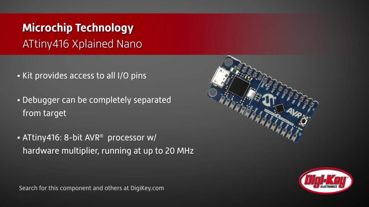 Microchip ATtiny416 Xplained Nano | Digi-Key Daily