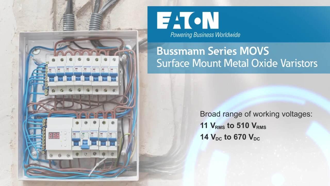 MOVS Surface Mount Metal Oxide Varistors