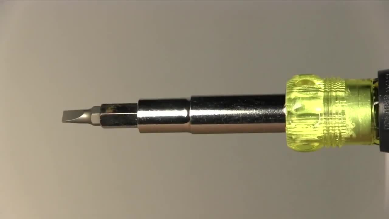 Klein Tools' 11-in-1 Screwdriver/Nutdriver