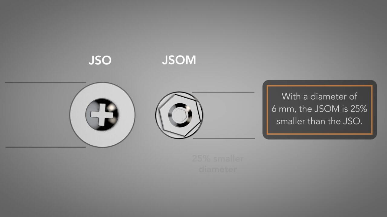 Jack Screw Standoffs for High-Normal-Force Applications (JSO & JSOM)