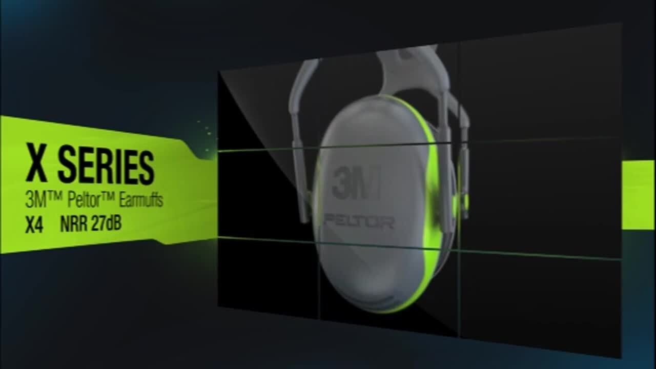 3M™ Peltor™ X-Series Earmuff Video