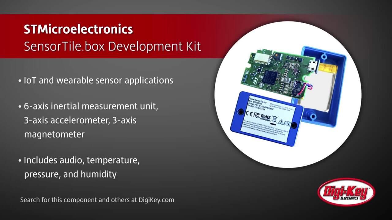 STMicroelectronics SensorTile.box Development Kit | Digi-Key Daily