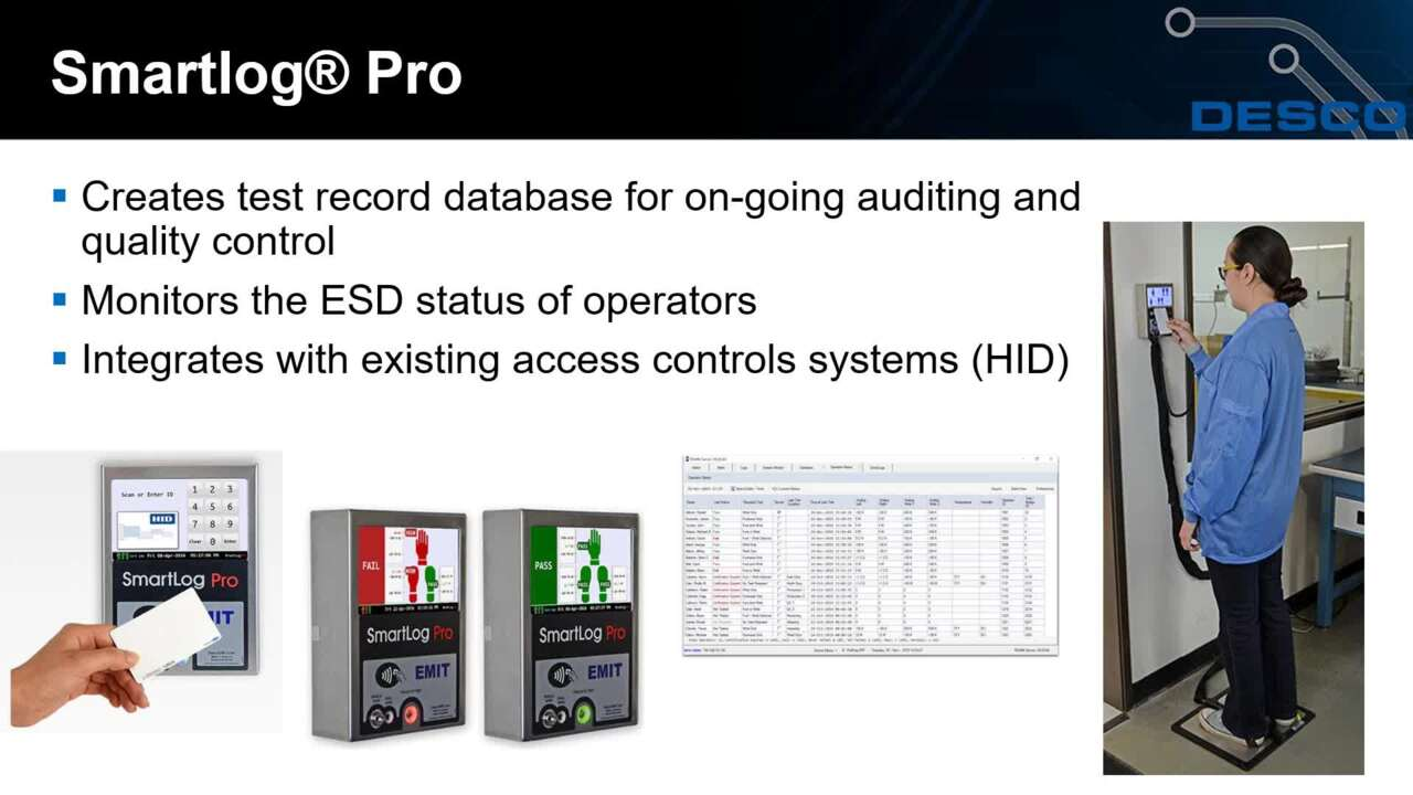 Requirements for an ESD Workstation Selecting a Personnel Grounding Tester
