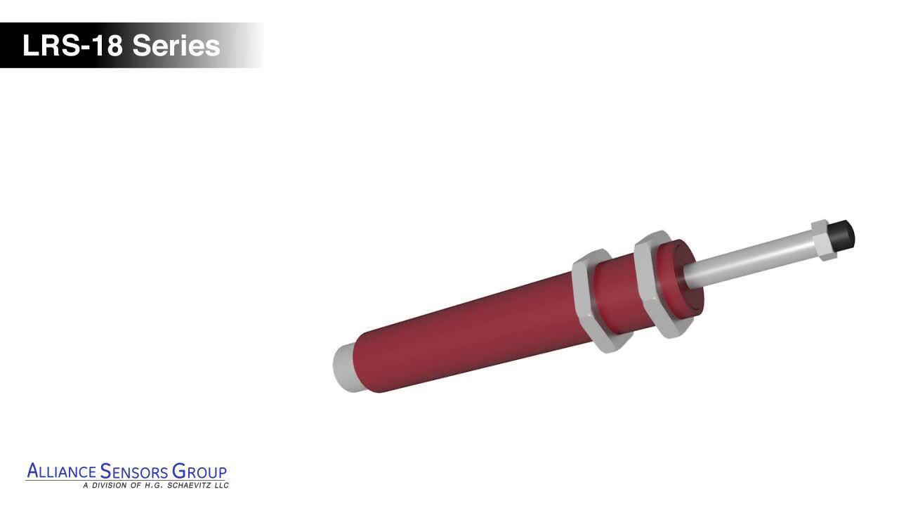 Spring Loaded LVIT Linear Position Sensor Overview