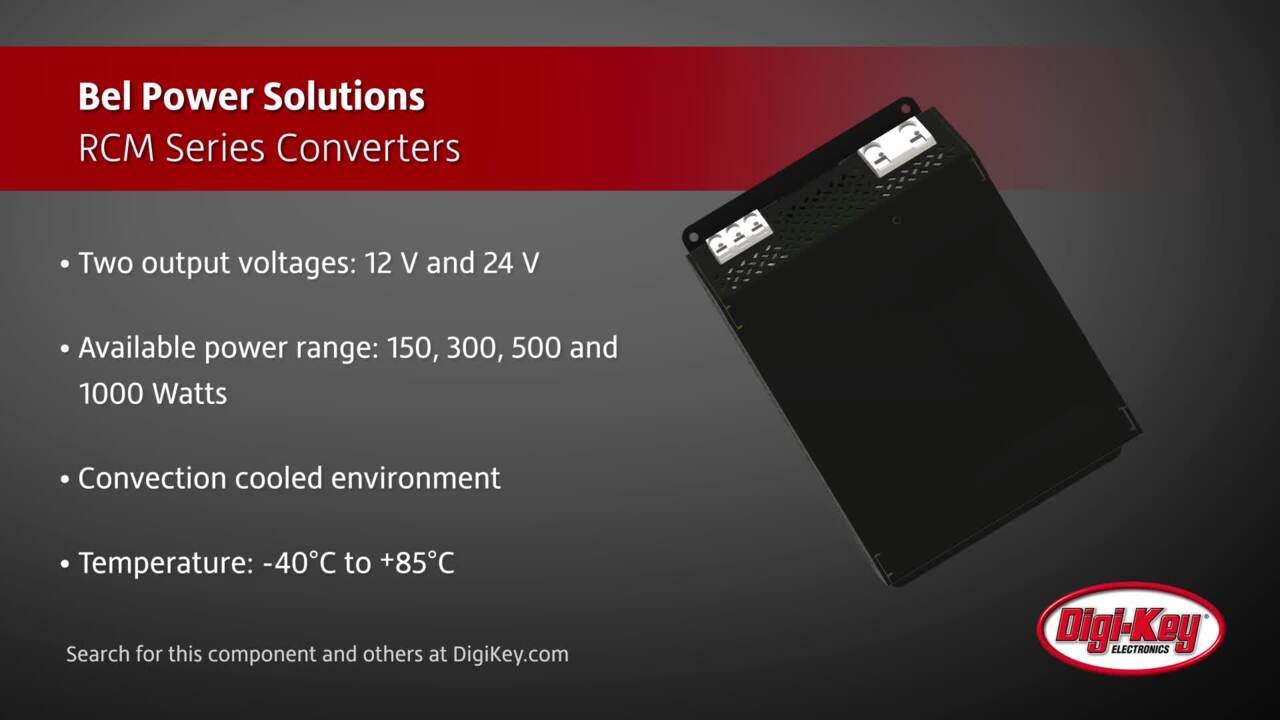 Bel Power RCM Series Converters | Digi-Key Daily