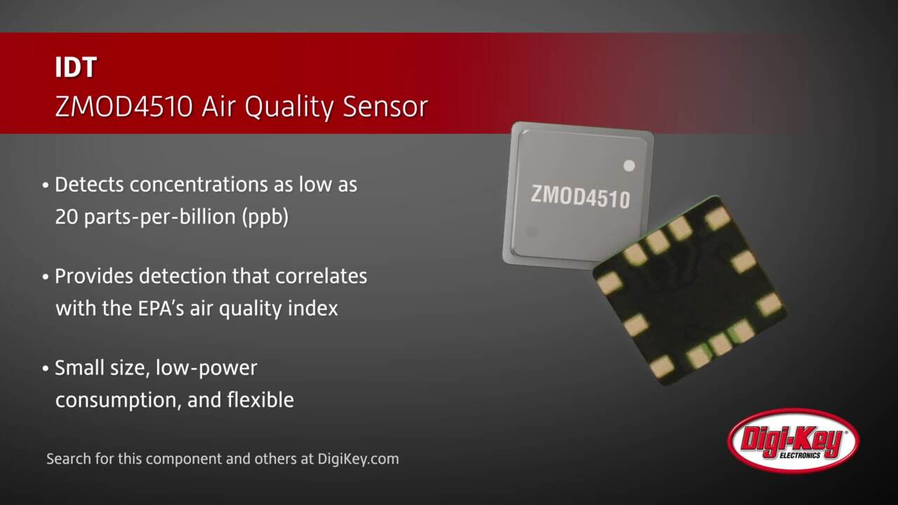 IDT ZMOD4510 Air Quality Sensor | Digi-Key Daily