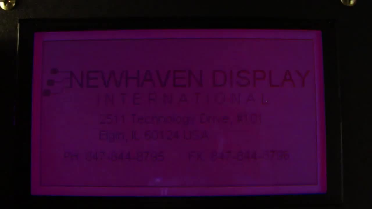 Newhaven RGB Displays
