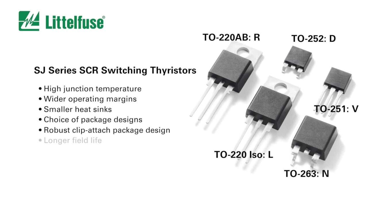 Littelfuse SJ Series Thyristors