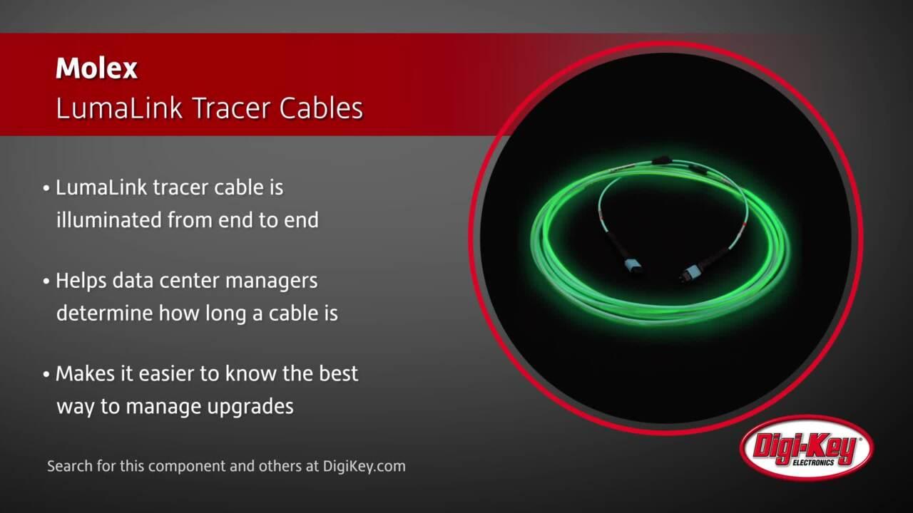 Molex LumaLink Tracer Cables | Digi-Key Daily