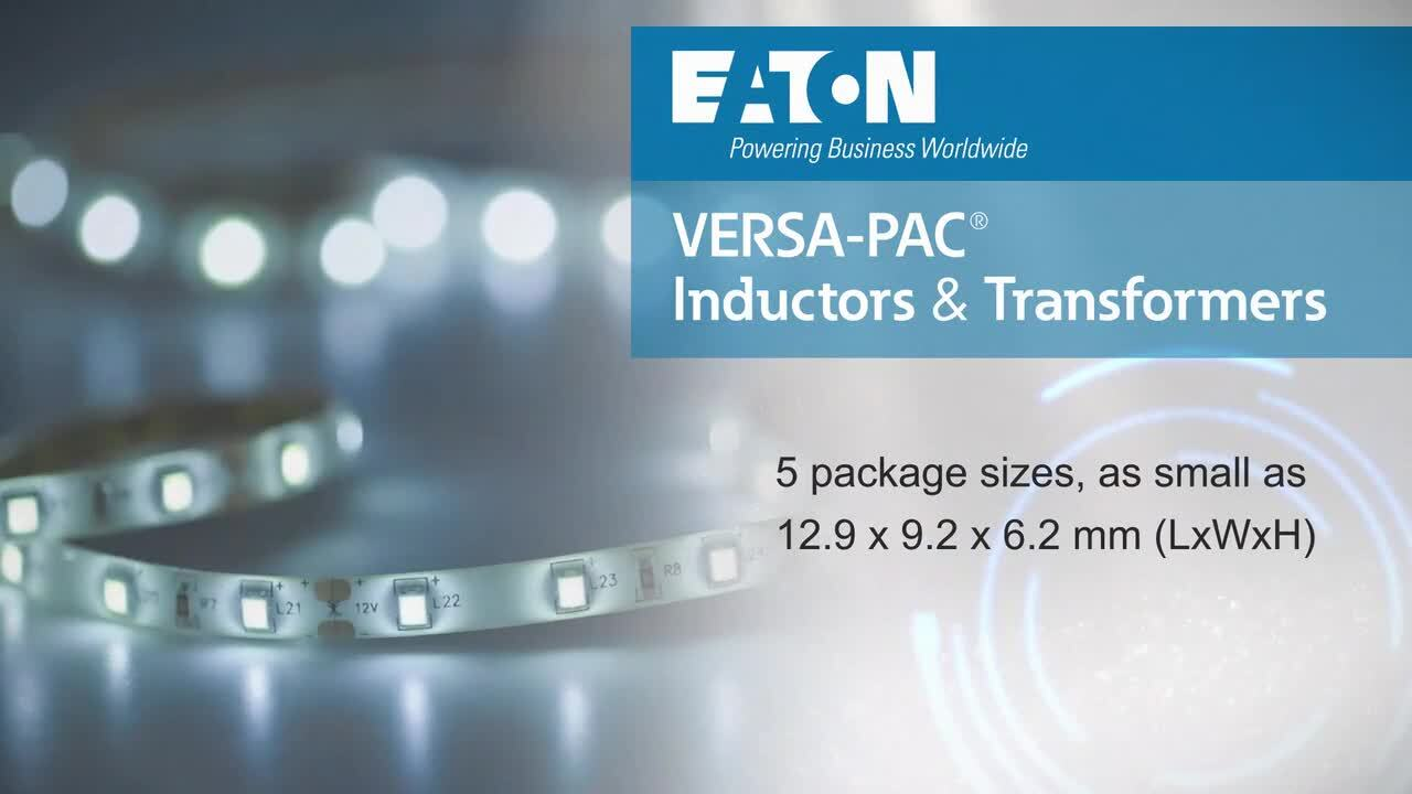 VERSA-PAC® User-Configurable Inductors and Transformers