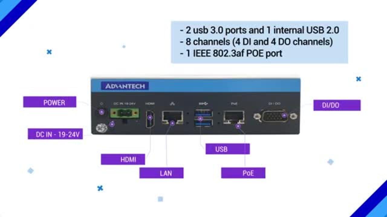 Advantech Edge AI Platform - MIC-720AI